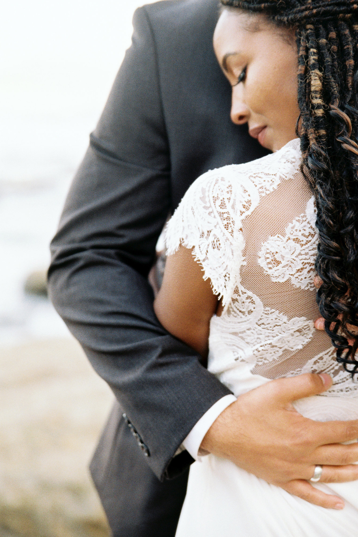 Blackberry and Pear Dreamy Beach Elopement Inspiration – Troy Meikle 26