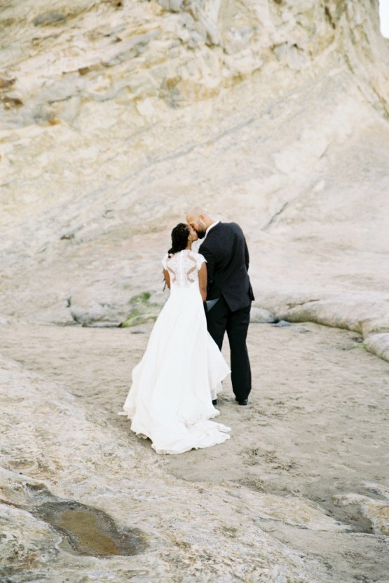 Blackberry and Pear Dreamy Beach Elopement Inspiration – Troy Meikle 27