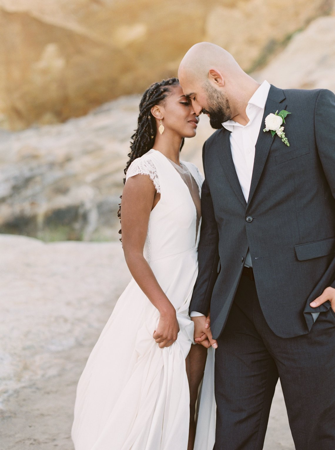 Blackberry and Pear Dreamy Beach Elopement Inspiration – Troy Meikle 29