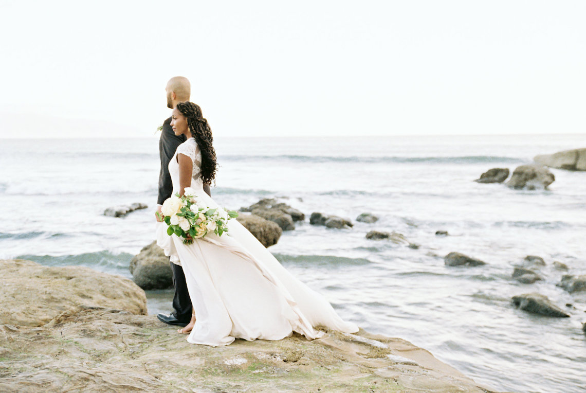 Blackberry and Pear Dreamy Beach Elopement Inspiration – Troy Meikle 34