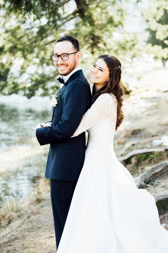 Charming Chamonix Winter Wedding With A Fur Coat – Katie Mitchell 12