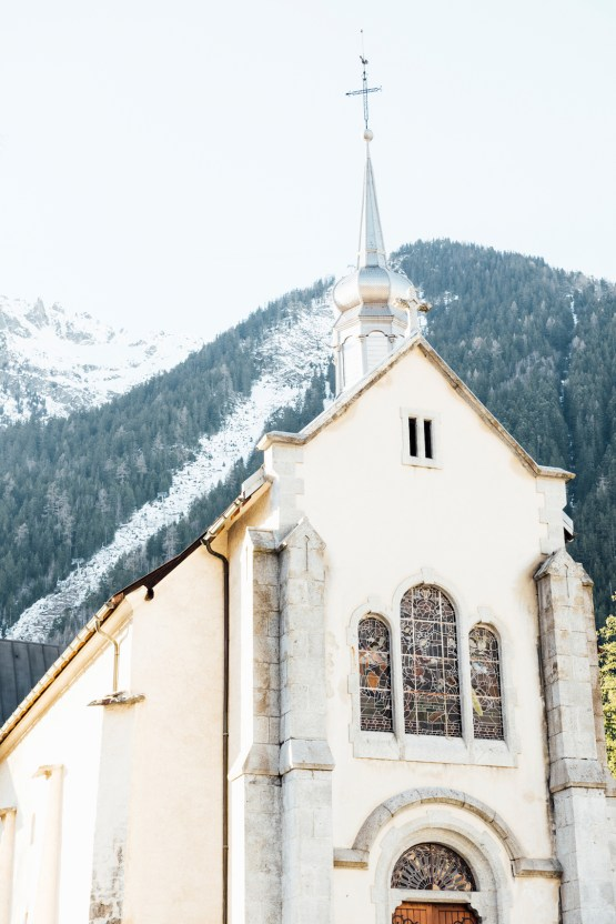 Charming Chamonix Winter Wedding With A Fur Coat – Katie Mitchell 14