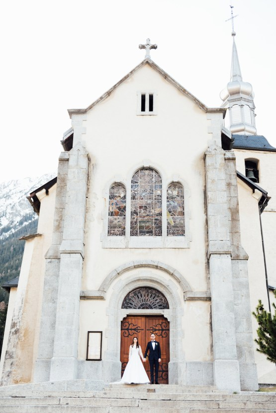 Charming Chamonix Winter Wedding With A Fur Coat – Katie Mitchell 16