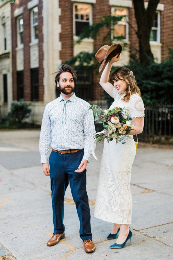 Country Western Meets Hip Brooklyn Elopement – Common Dove Photography 31