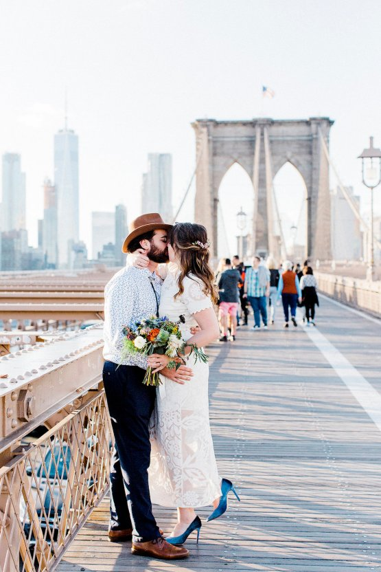 Country Western Meets Hip Brooklyn Elopement – Common Dove Photography 34