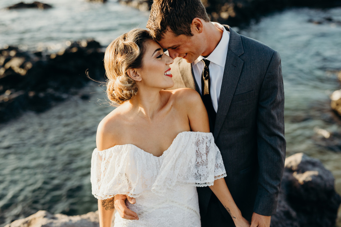 Glamorous and Tropical Hawaiian Wedding Inspiration – Melissa Ergo Photography 12