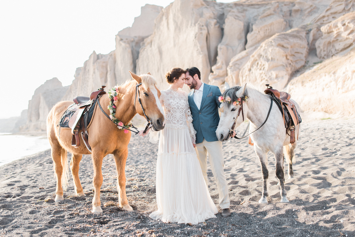 Beach Brides Will Love These Greek Seashell Wedding Decor Ideas