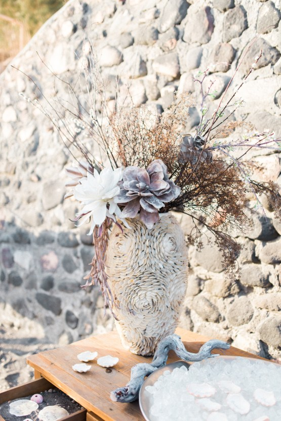 Seashell Wedding Ideas From The Beaches Of Greece – George Liopetas 25