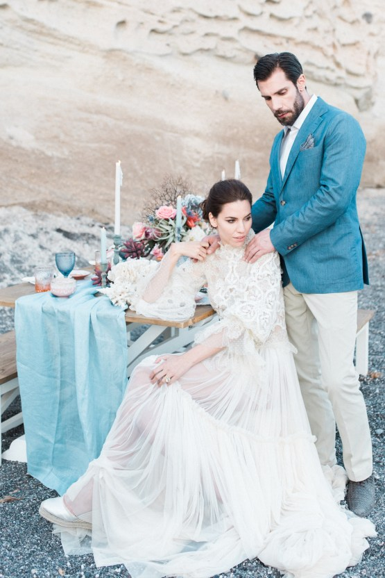 Seashell Wedding Ideas From The Beaches Of Greece – George Liopetas 39