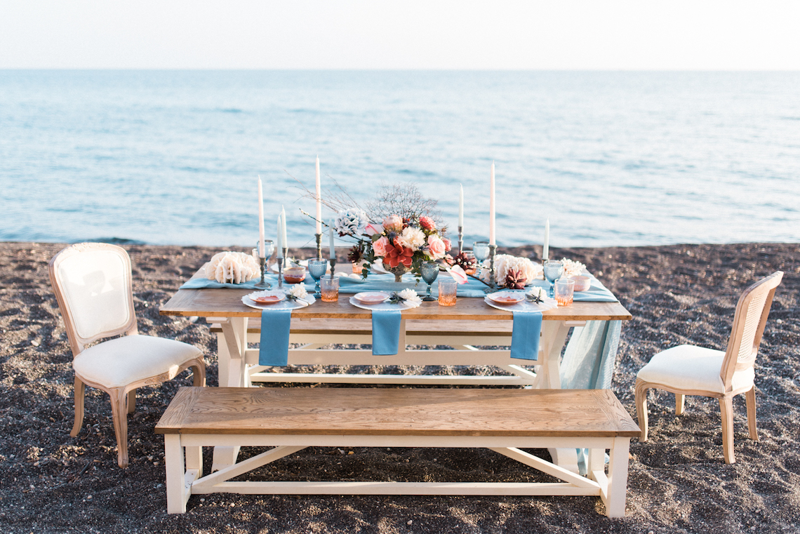 Seashell Wedding Ideas From The Beaches Of Greece – George Liopetas 5