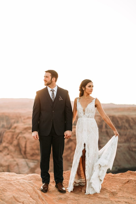 Wild and Bohemian Horseshoe Bend Wedidng Inspiration – Carmela Joy Photography – Luv Bridal 27