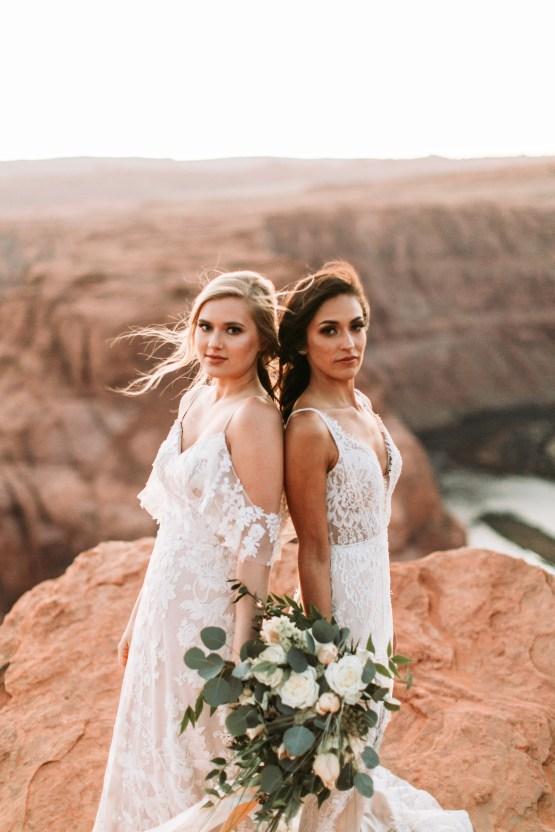 Wild and Bohemian Horseshoe Bend Wedidng Inspiration – Carmela Joy Photography – Luv Bridal 41