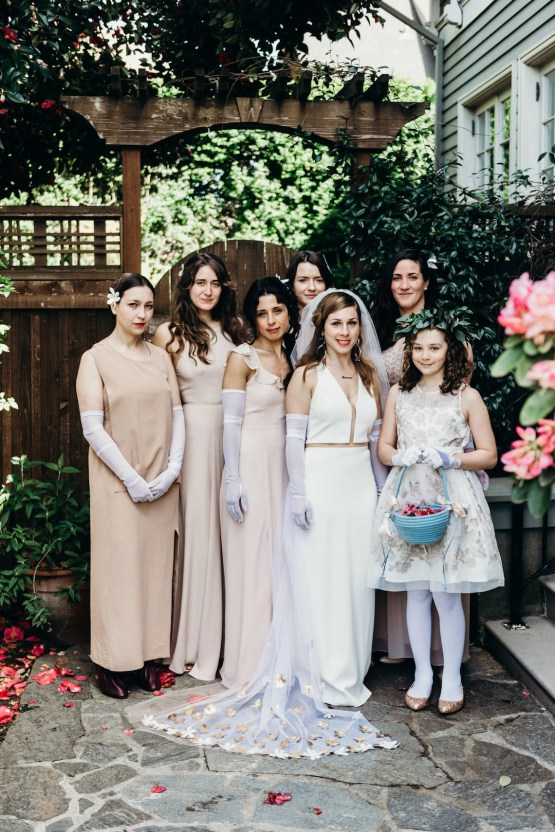 All-White Portland Photo Studio Wedding – Davis Hilton 19