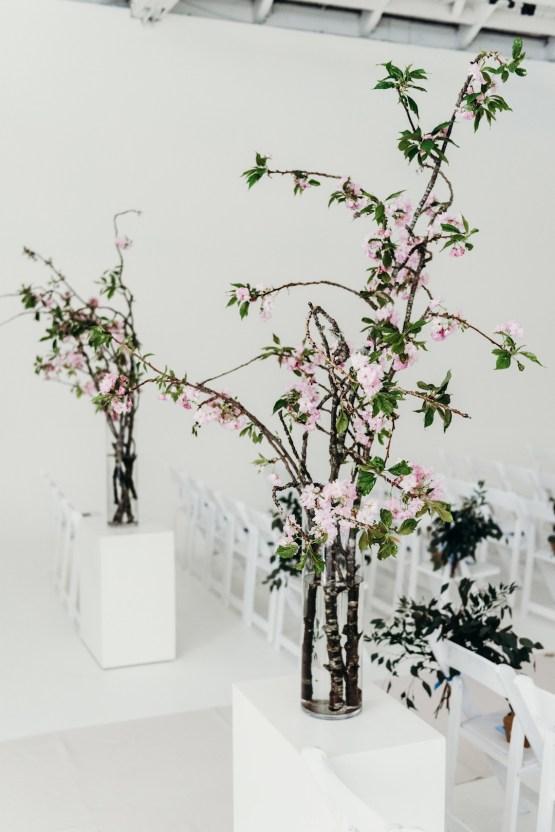 All-White Portland Photo Studio Wedding – Davis Hilton 20