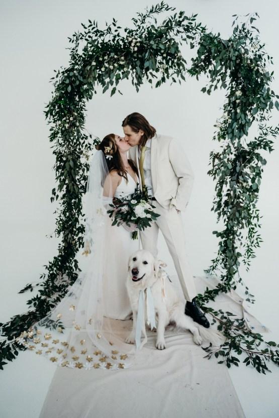 All-White Portland Photo Studio Wedding – Davis Hilton 35