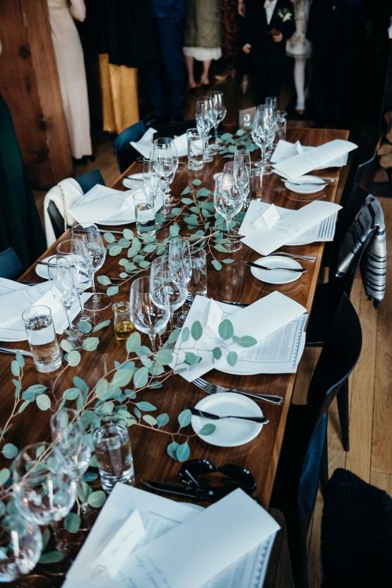 All-White Portland Photo Studio Wedding – Davis Hilton 36