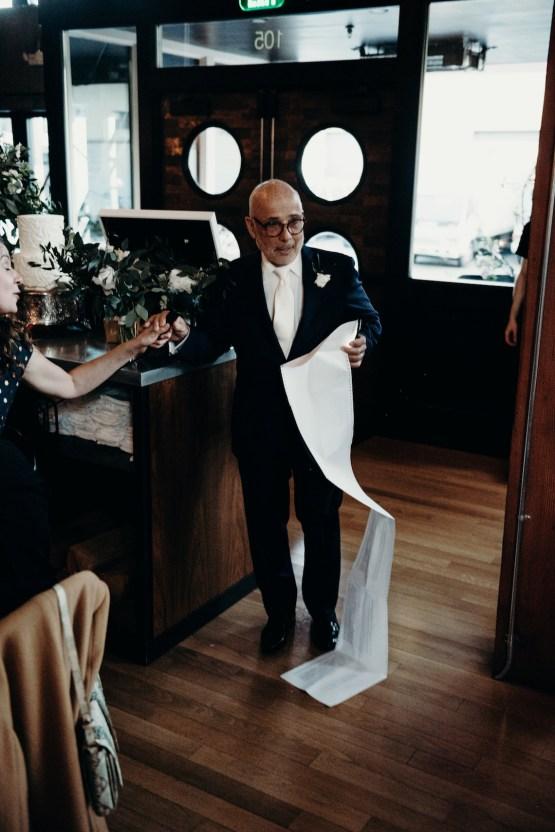 All-White Portland Photo Studio Wedding – Davis Hilton 39
