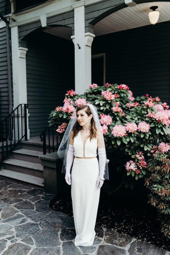 All-White Portland Photo Studio Wedding – Davis Hilton 40