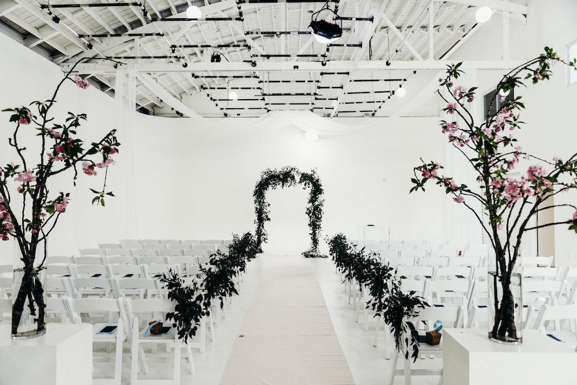 All-White Portland Photo Studio Wedding – Davis Hilton 52
