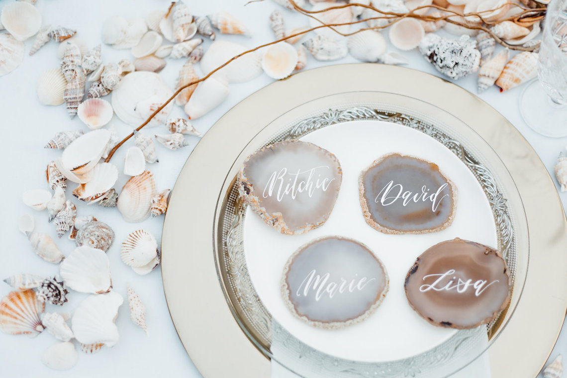 Beach Boho Wedding Inspiration With Agate Ideas – Stefanie Lange 11