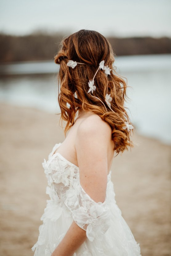 Beach Boho Wedding Inspiration With Agate Ideas – Stefanie Lange 30