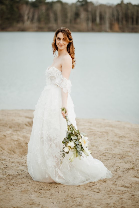 Beach Boho Wedding Inspiration With Agate Ideas – Stefanie Lange 31