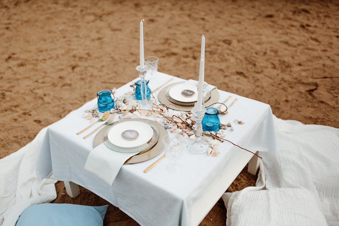 Beach Boho Wedding Inspiration With Agate Ideas – Stefanie Lange 4