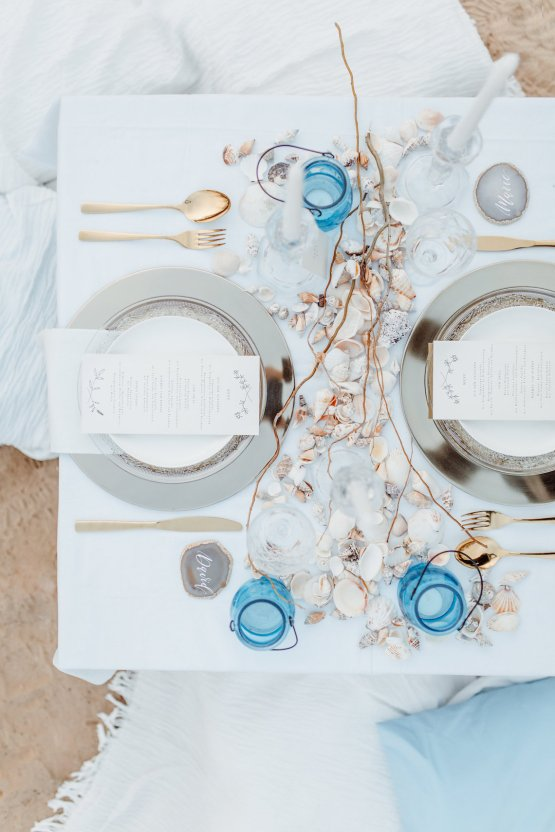 Beach Boho Wedding Inspiration With Agate Ideas – Stefanie Lange 44