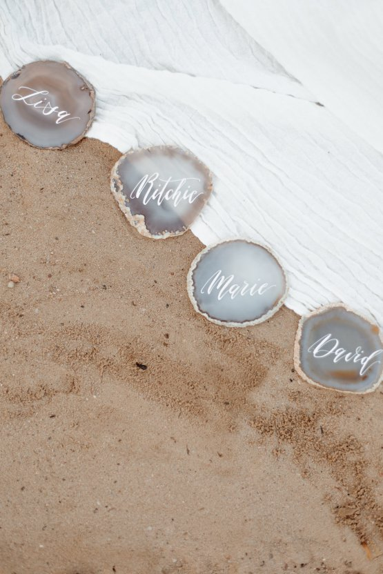 Beach Boho Wedding Inspiration With Agate Ideas – Stefanie Lange 45