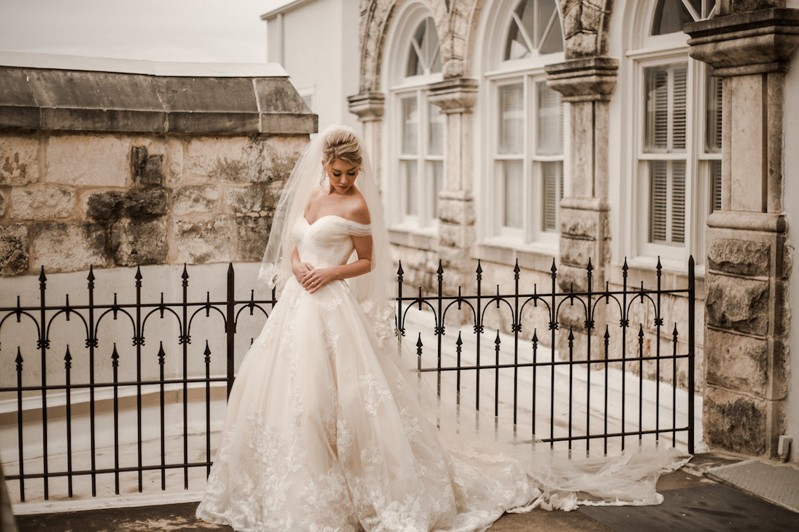 Champagne & Pink Chateau Wedding Inspiration In Texas – Wild Love Photography 3