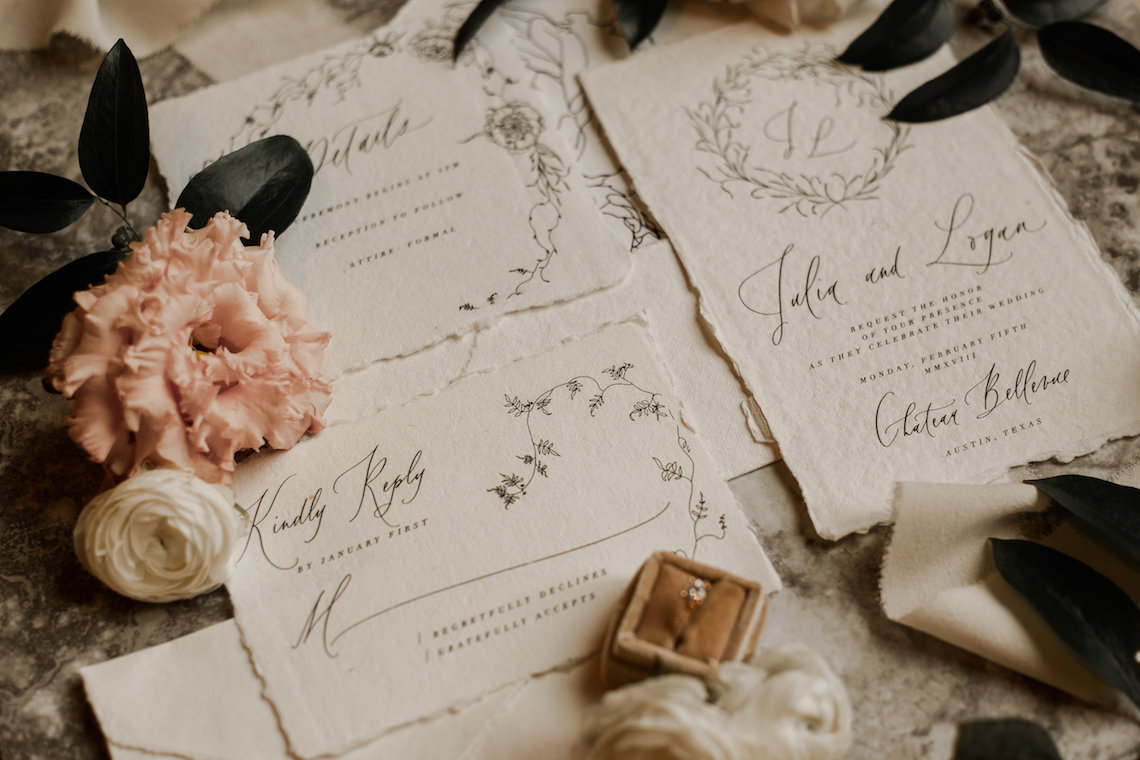Champagne & Pink Chateau Wedding Inspiration In Texas – Wild Love Photography 5
