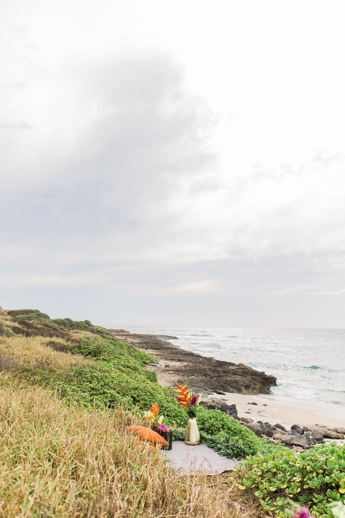 Colorful Hawaiian Boho Wedding Inspiration – Chelsea Stratso Photography 19