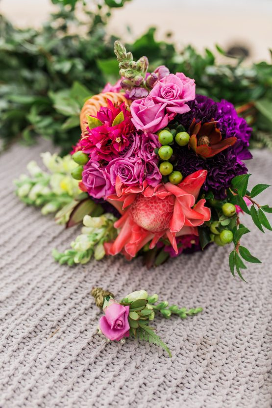 Colorful Hawaiian Boho Wedding Inspiration – Chelsea Stratso Photography 20