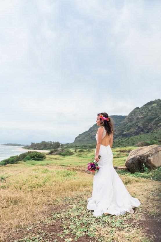 Colorful Hawaiian Boho Wedding Inspiration – Chelsea Stratso Photography 48