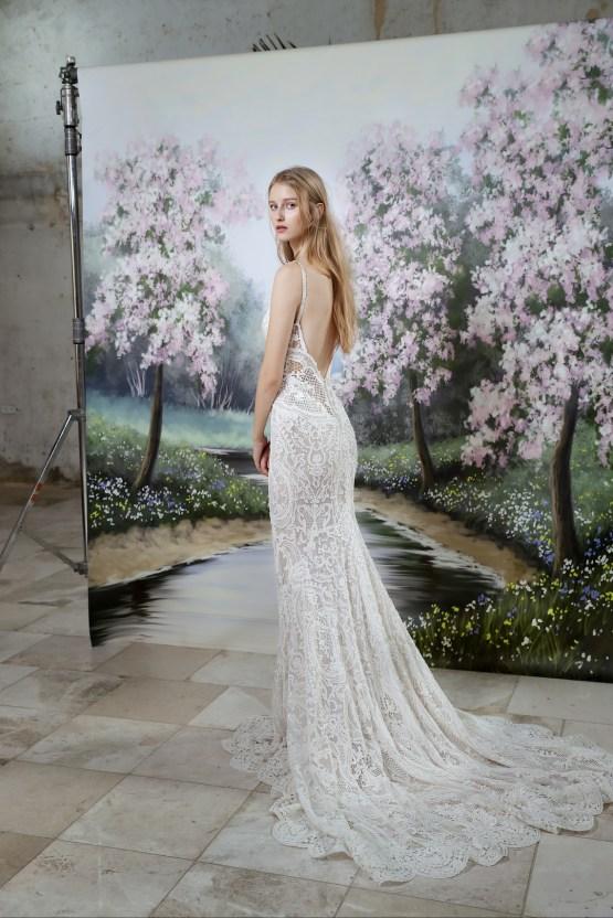 Galia Lahav Modern Fairytale-Inspired Wedding Dress Collection G-201 Back