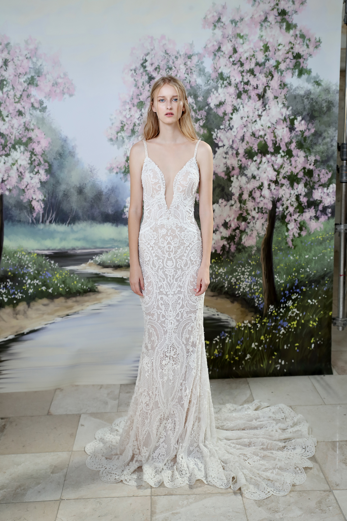 Galia Lahav Modern Fairytale-Inspired Wedding Dress Collection G-201 Front