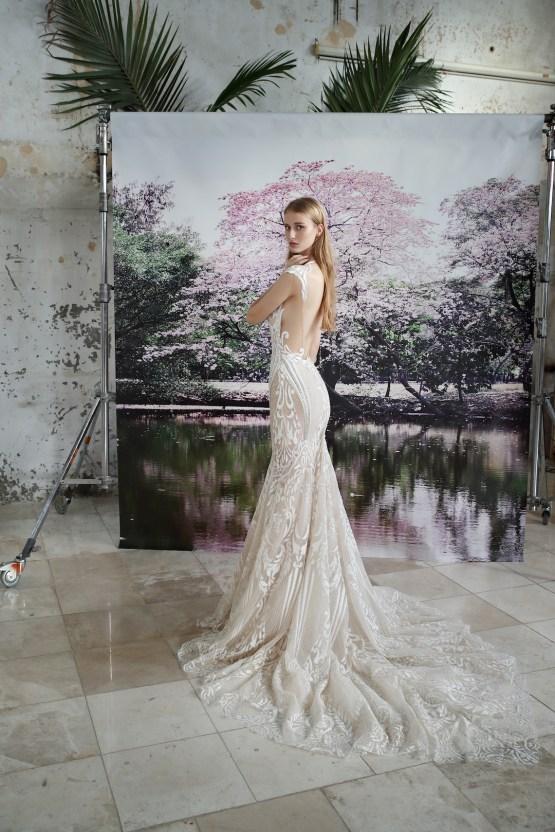 Galia Lahav Modern Fairytale-Inspired Wedding Dress Collection G-202 Back