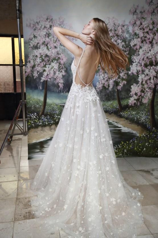 Galia Lahav Modern Fairytale-Inspired Wedding Dress Collection G-204 Back