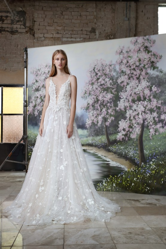 Galia Lahav Modern Fairytale-Inspired Wedding Dress Collection G-204 Front