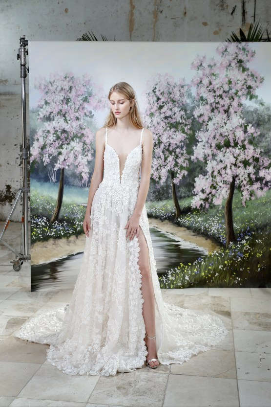 Galia Lahav Modern Fairytale-Inspired Wedding Dress Collection G-205 Front