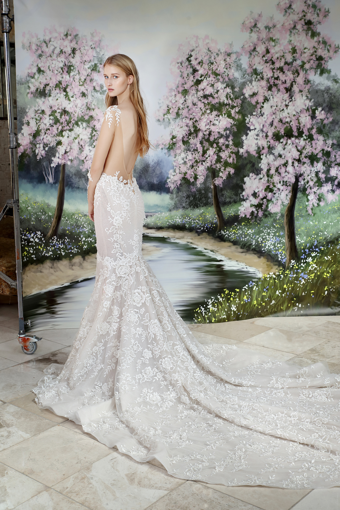 Galia Lahav Modern Fairytale-Inspired Wedding Dress Collection G-206 Back