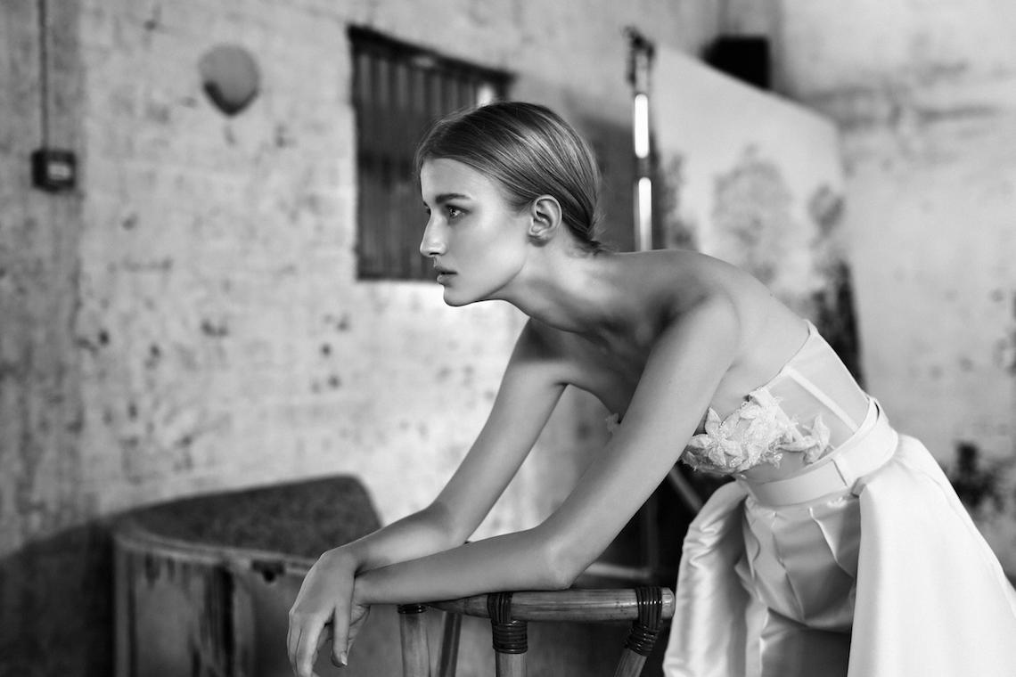Galia Lahav Modern Fairytale-Inspired Wedding Dress Collection G-211 Closeup