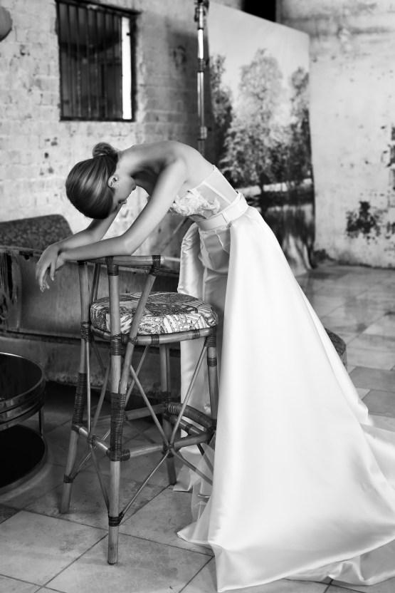 Galia Lahav Modern Fairytale-Inspired Wedding Dress Collection G-211 Side