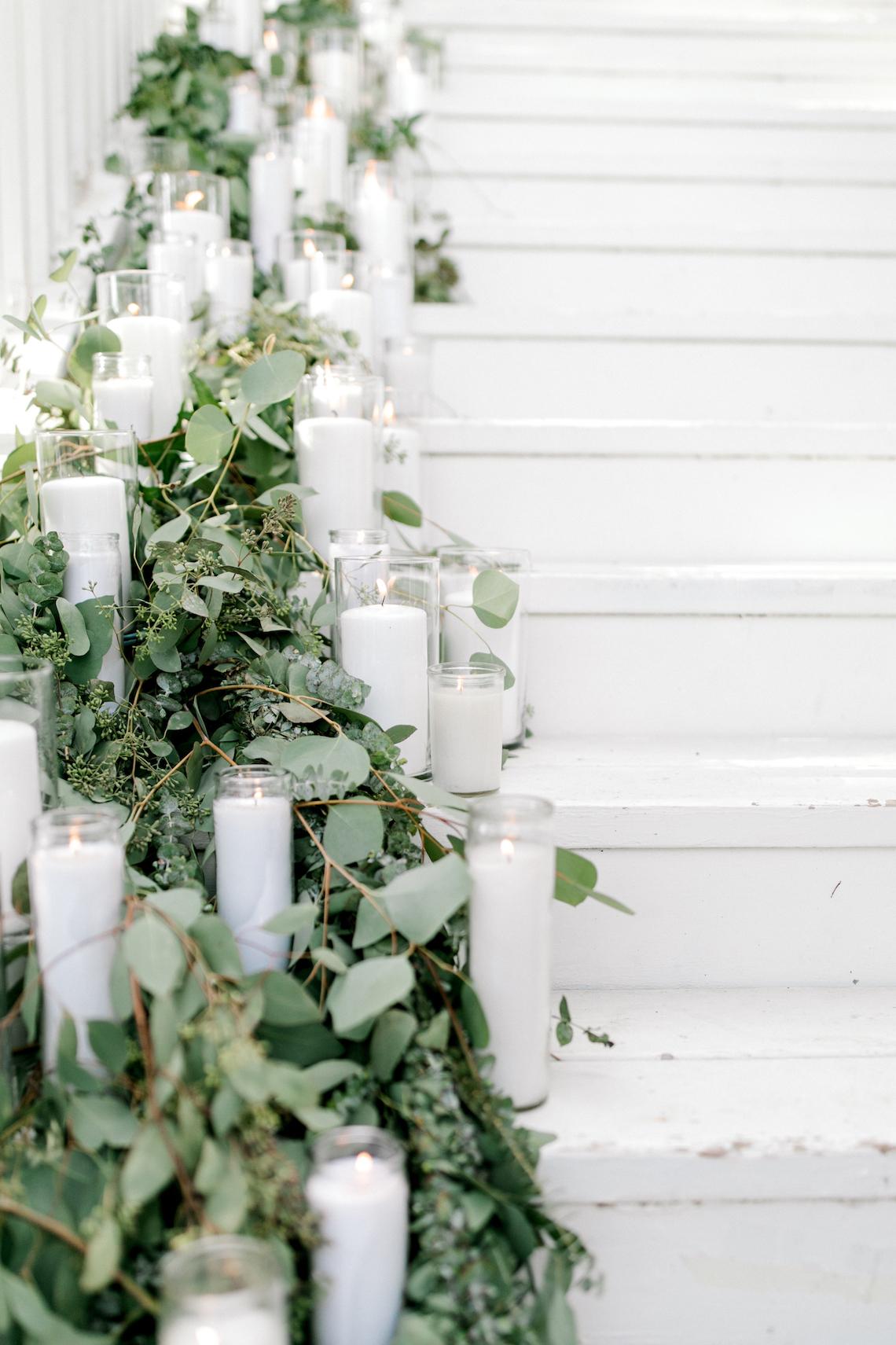 Glamorous Emerald Sapphire and Peach Countryside Wedding – Melanie Julian 14