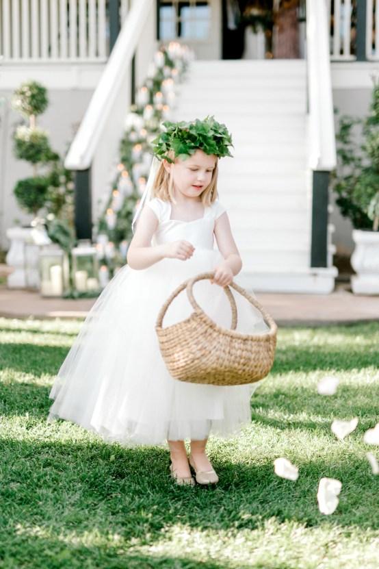 Glamorous Emerald Sapphire and Peach Countryside Wedding – Melanie Julian 15