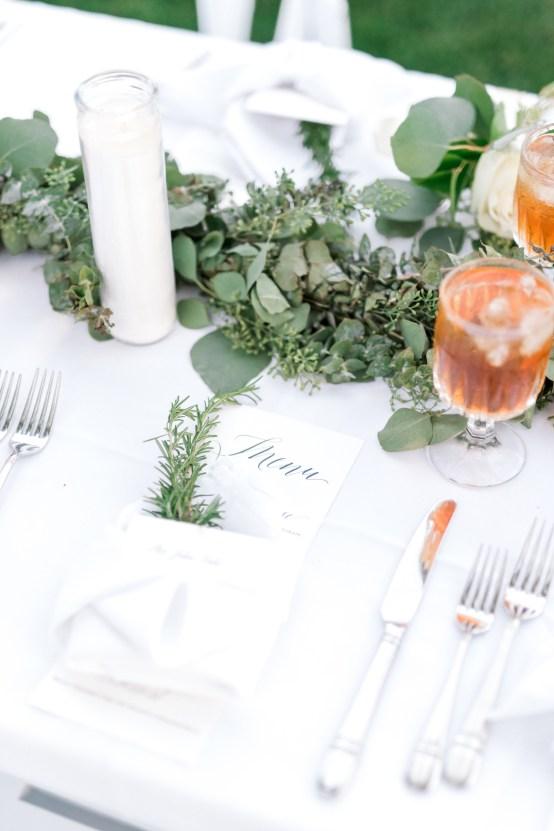 Glamorous Emerald Sapphire and Peach Countryside Wedding – Melanie Julian 47