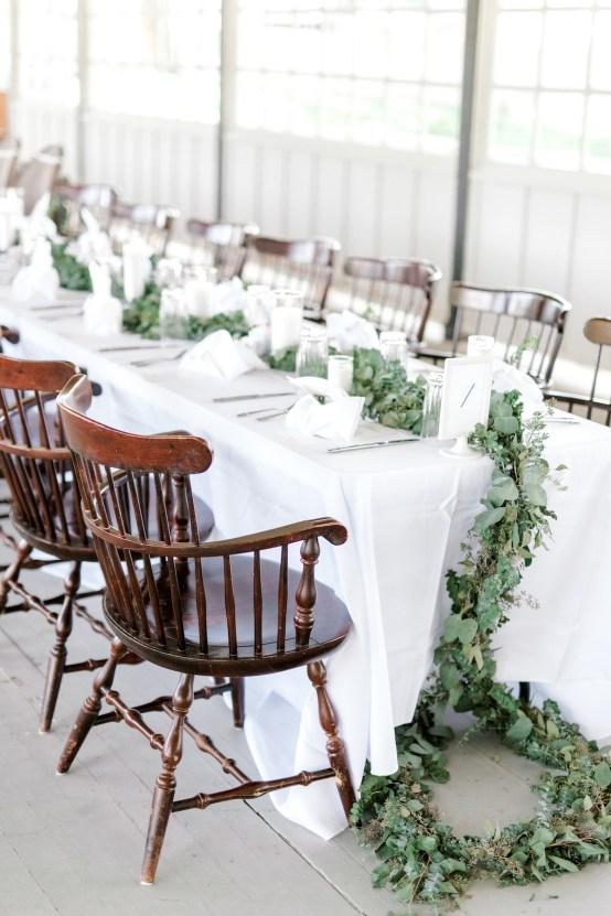 Glamorous Emerald Sapphire and Peach Countryside Wedding – Melanie Julian 49