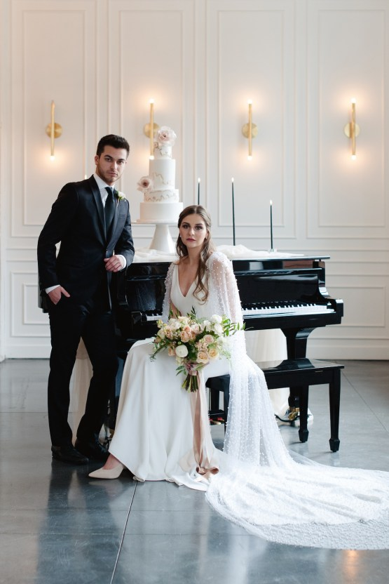 Modern Marble Wedding Inspiration With A Pearl Bridal Cape – Roots of Life Photography 30