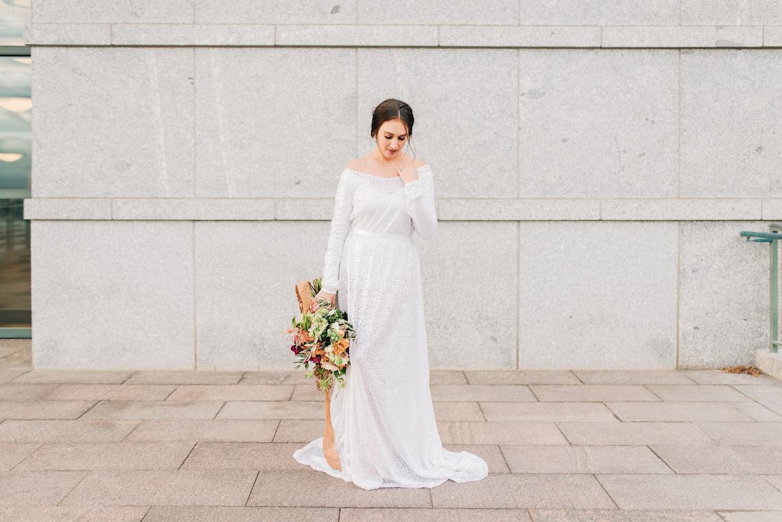 Modern Modest Metropolitan Bridal Inspiration – J Noelle Designs – Hiliary Stewart 10