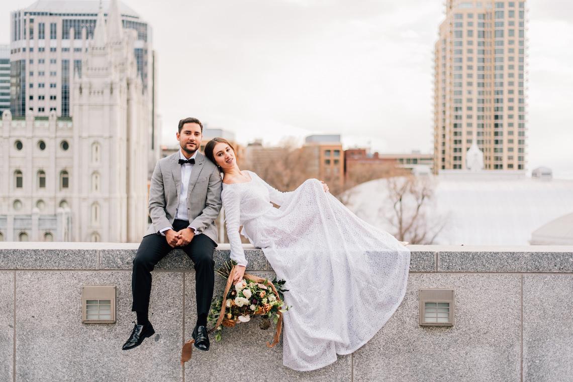 Modern Modest Metropolitan Bridal Inspiration – J Noelle Designs – Hiliary Stewart 3